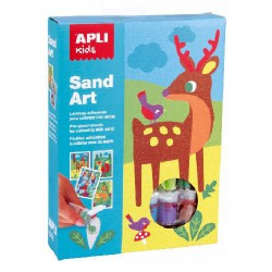 KIT SAND ART COLOREA CON ARENA