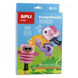 Kit Fieltro costura 13813 Funny Pencils