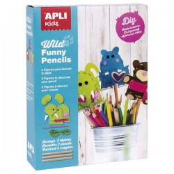 Kit Costura con Fieltro (14350) Wild Funny Pencils