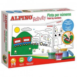 Kit Alpino Activity Pinta por números