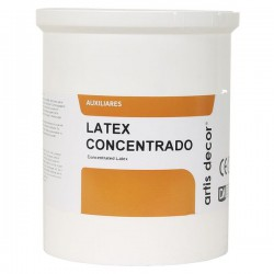 Látex concentrado ARTIS DECOR Brillo 1000 ml.