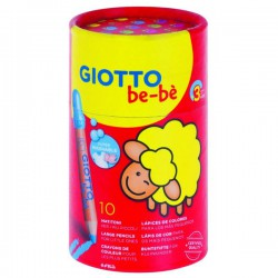 GIOTTO BE-BE bote 10 Super Lápices