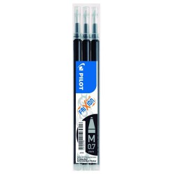 Pack 3 Recambios PILOT FRIXION color Negro