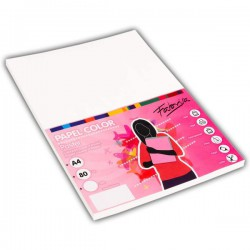 Pack 100 Hojas A4 papel 80 gr. Blanco