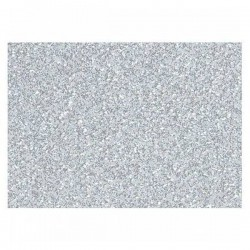 Cartulina Purpurina 50x65 cm color Plata