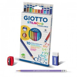 Giotto Stilnovo Bicolor caja 12 lápices surtidos