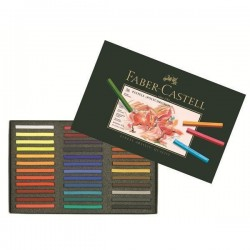 PASTEL 36 TIZAS FABER-CASTELL POLYCHROMOS