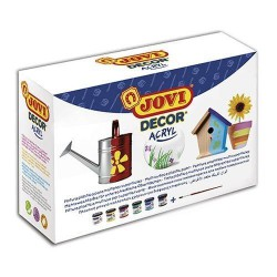 SET 6 BOTES 55 ml JOVI DECOR ACRYL
