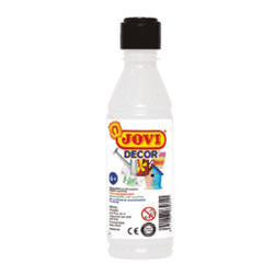 PINTURA ACRILICA JOVI DECOR 250 ml BLANCO
