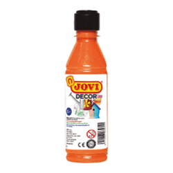 PINTURA ACRILICA JOVI DECOR 250 ml NARANJA