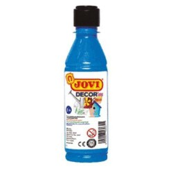 PINTURA ACRILICA JOVI DECOR 250 ml AZUL CYAN