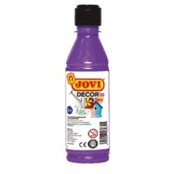 PINTURA ACRILICA JOVI DECOR 250 ml VIOLETA