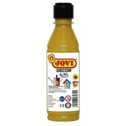 PINTURA ACRILICA JOVI DECOR 250 ml METAL. ORO