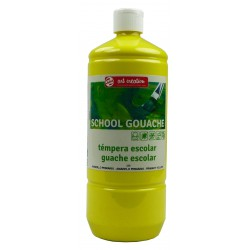 TEMPERA TALENS SCHOOL GOUACHE 1000 ml AMARILLO