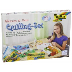 KIT QUILLING SET ANIMALES Y PLANTAS